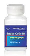 super co q10 green world