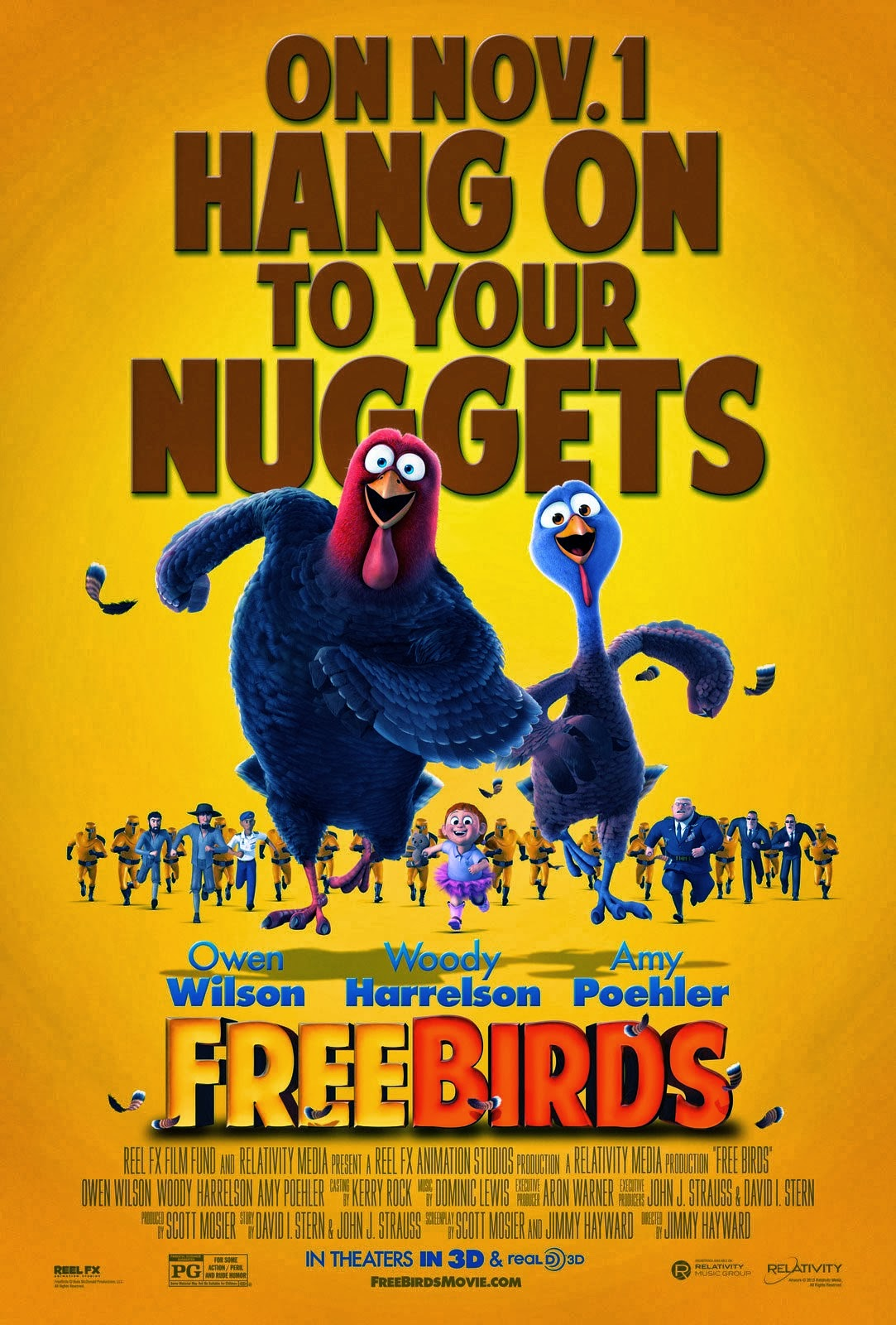 Free Birds Movie Poster 2013 Images & Pictures - Becuo