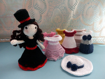 Amigurumi Princess Free Pattern : Free amigurumi patterns the princess and her clothes