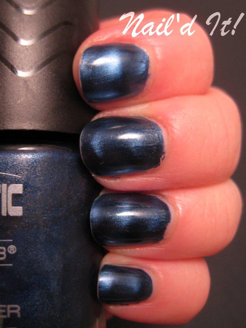 KelBel Cosmetics: Color Club Magnetic Force: Electro-Midnight