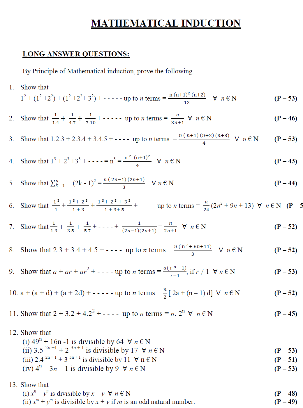 Worksheets Maths Questions fresh papad maths 1a important questions questions