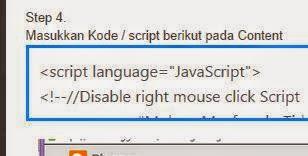 Membuat Box Code / Kotak Script Pada Postingan Blog