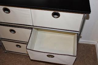 Brylane Home 6-Drawer Storage Wardrobe
