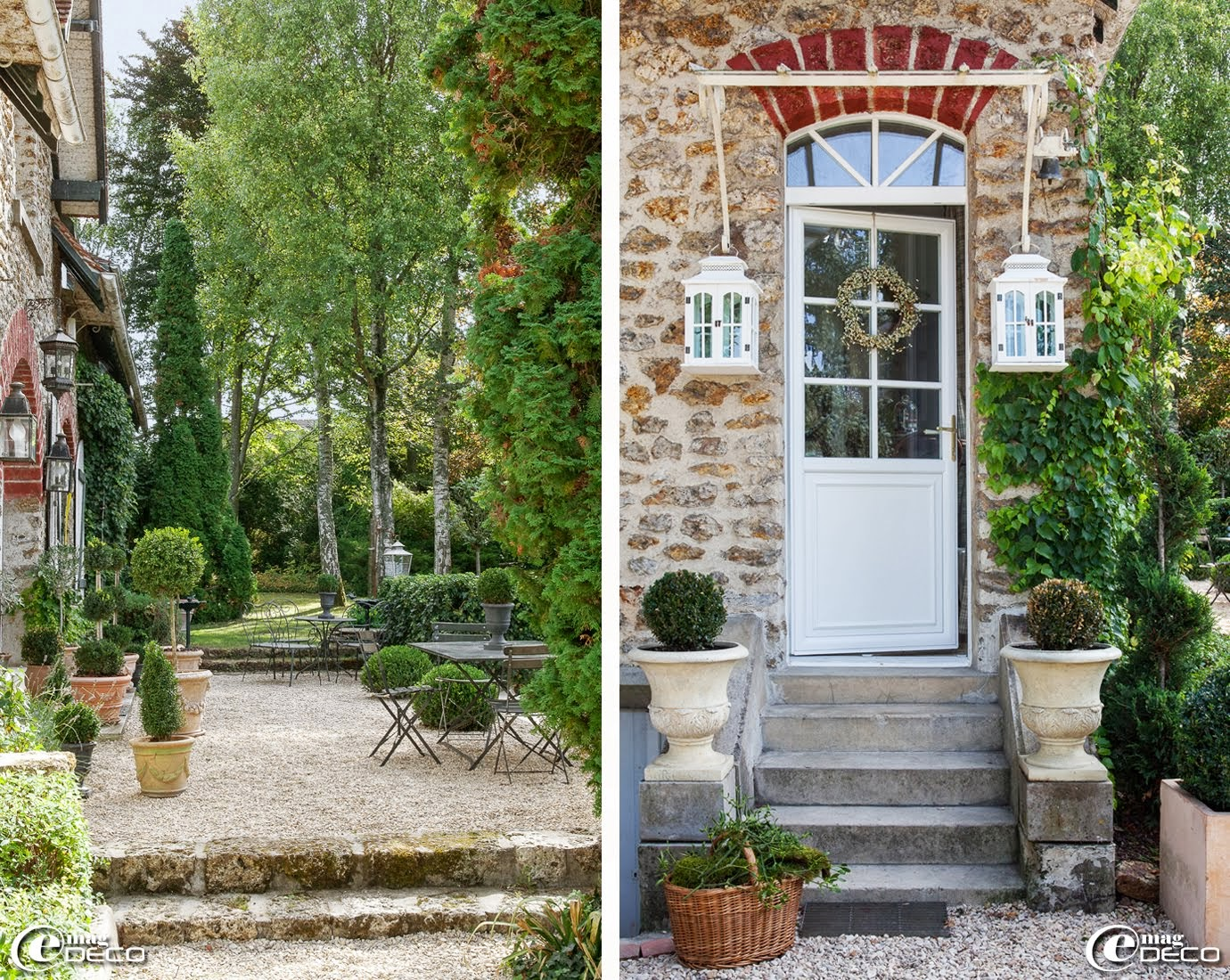 Ciaotraveler french chic provence blog for Decoration exterieur terrasse