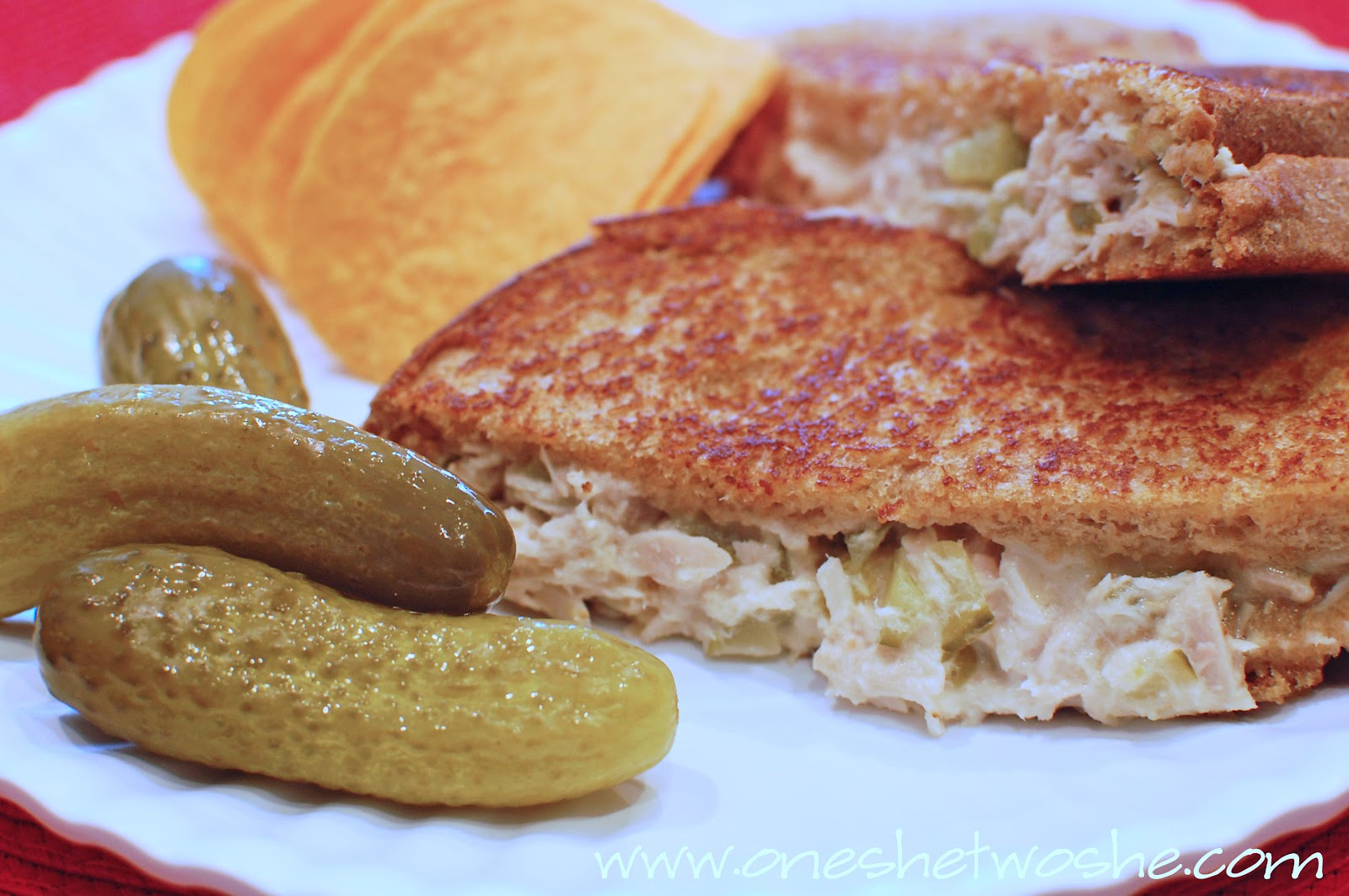 Tuna Melts ~ An Easy, Favorite Sandwich! - Or so she says...
