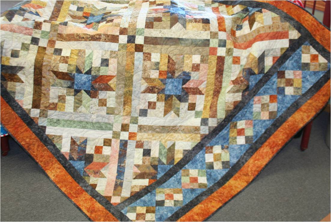 Common Threads Quilt Shop and Design Studio: EChatter - Februrary 2012 : smokey river quilt kit - Adamdwight.com