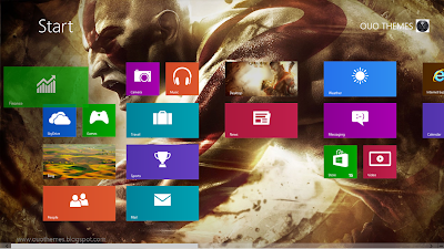 God Of War Ascension Theme For Windows 8