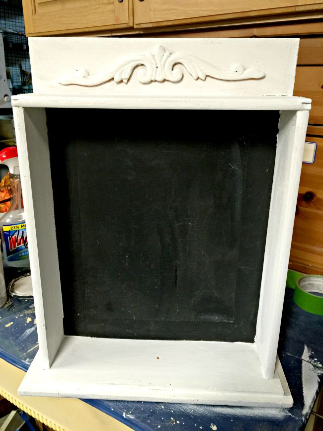 Repurposed Chalkboard Drawer www.homeroad.net
