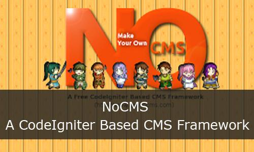 A CodeIgniter Based CMS Framework