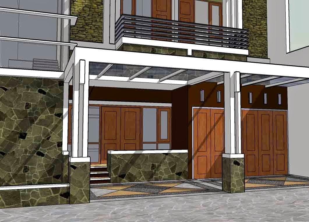 Contoh Gambar Model Garasi Rumah Minimalis