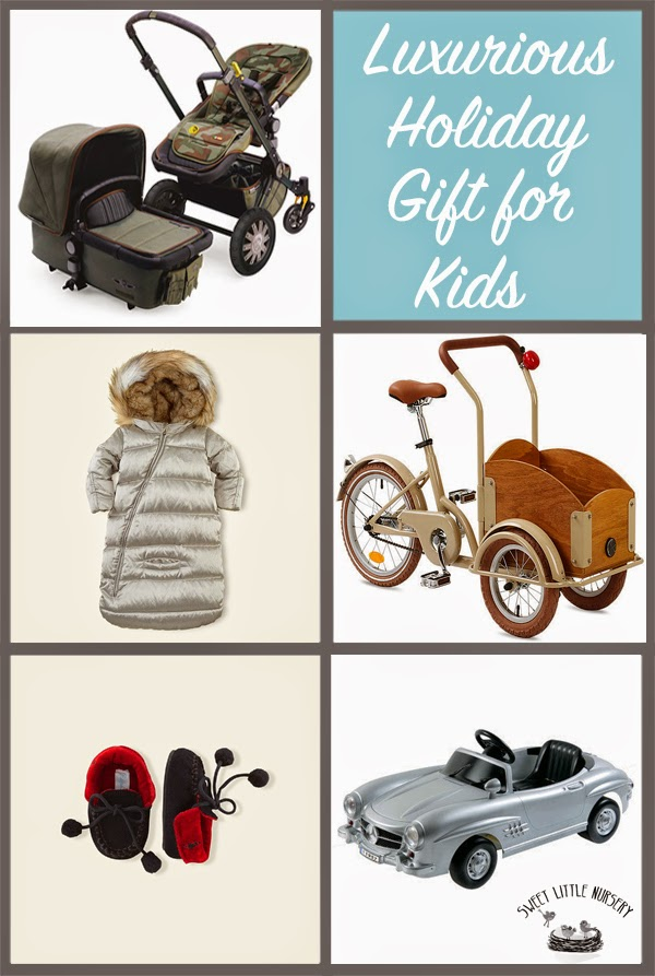 Welcome to the Good Life! The Most Luxurious Holiday Gifts For Kids