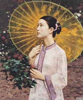 retratos-al-oleo-de-mujeres-asiaticas