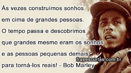 Frases Curtas de Bob Marley