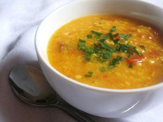 urad dal tomato soup