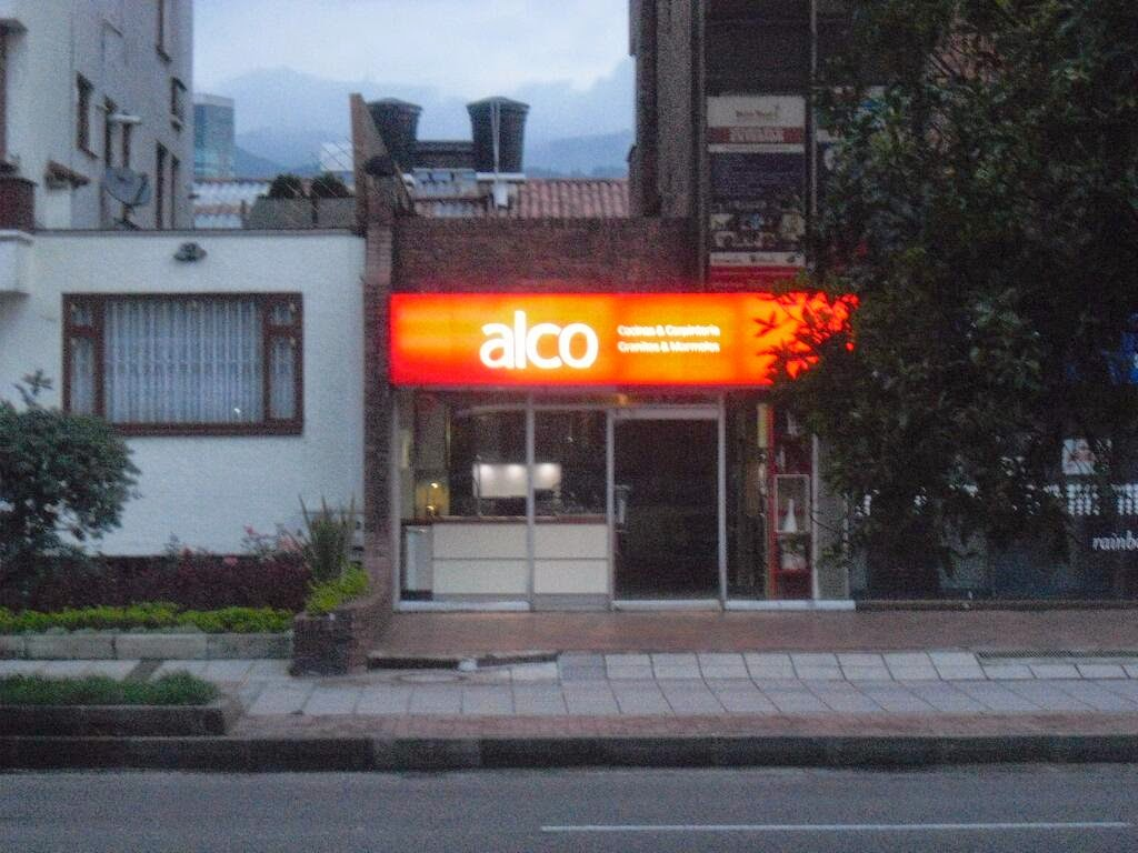 Colombia's alco store; just what we were looking for...