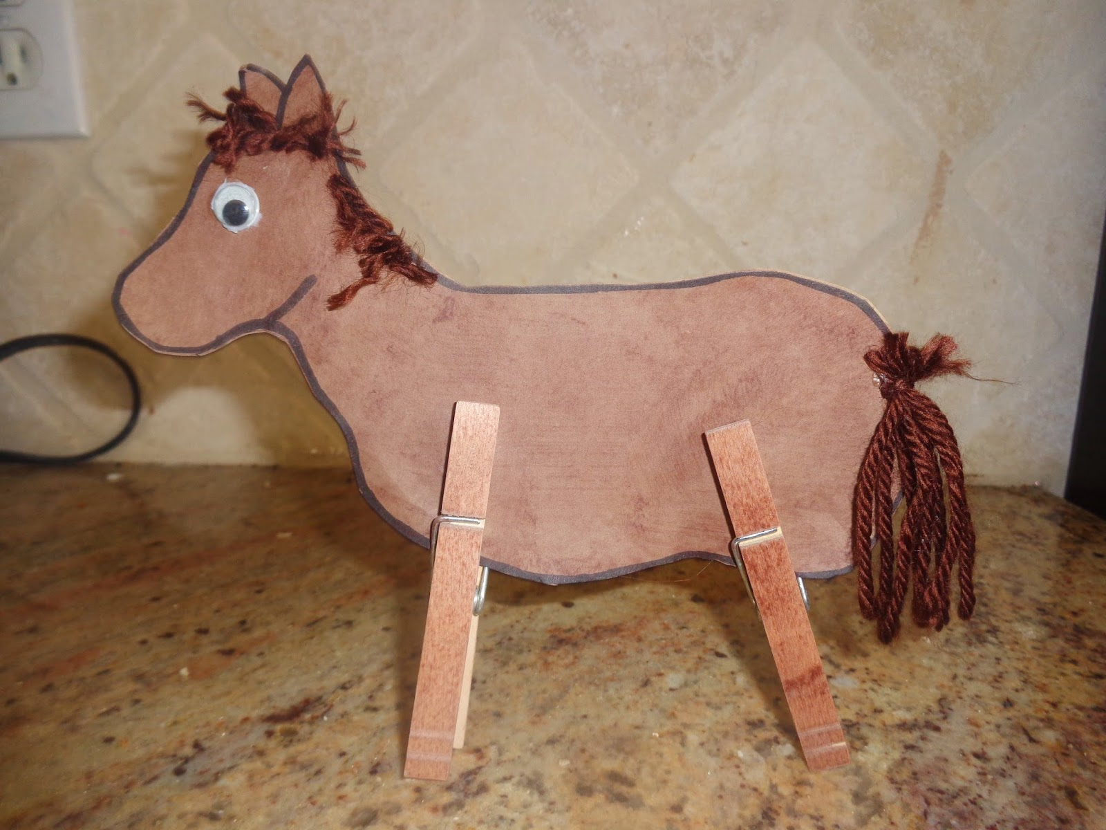 Terrific preschool years october 2013 for Horse crafts for kids