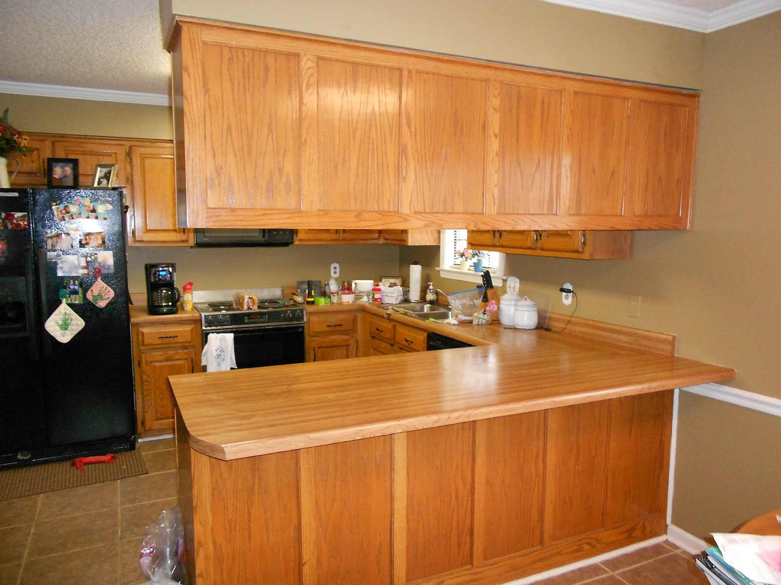 Amazing Grays Another Kitchen Cabinet Makeover
