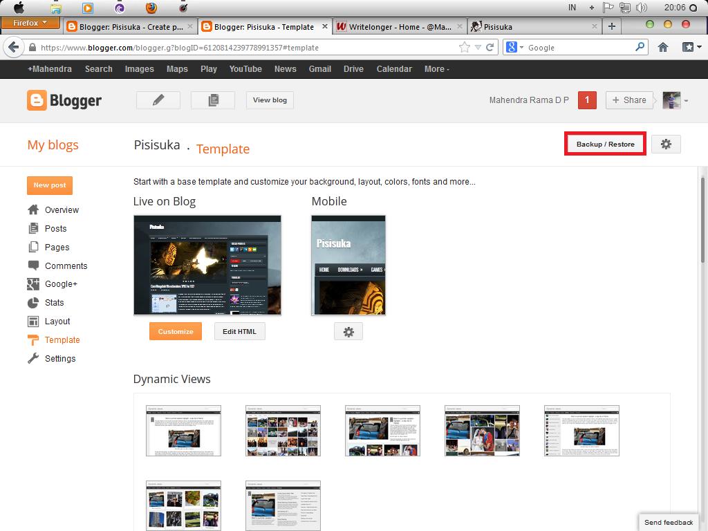 Cara Mengganti Gambar Background Blog via Edit HTML