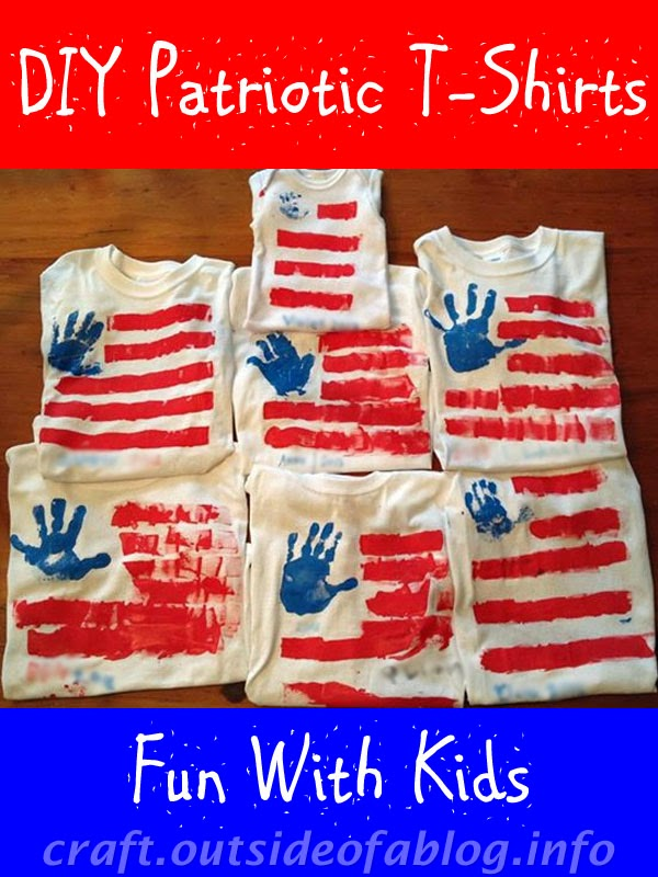 DIY Patriotic t-shirts | Fun With Kids