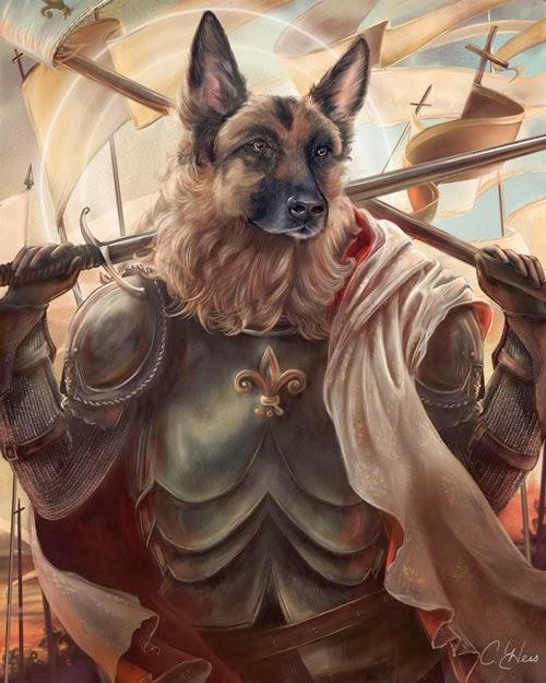 04-Joan-of-Arc-Animals-From-History-Illustrator-&-Writer-Christina-Hess-www-designstack-co