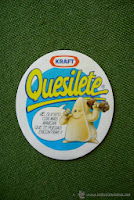 Antiguo envase de los quesitos Quesilete de Kraft (www.BlogMarcasBlancas.com)