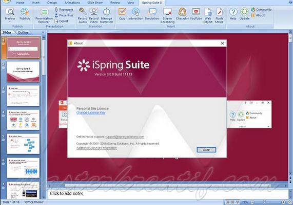 Giới thiệu Ispring Sute 8, phần mềm hỗ trợ soạn giảng e-Learning