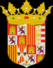 Escudo de Fernando el Católico en 1503