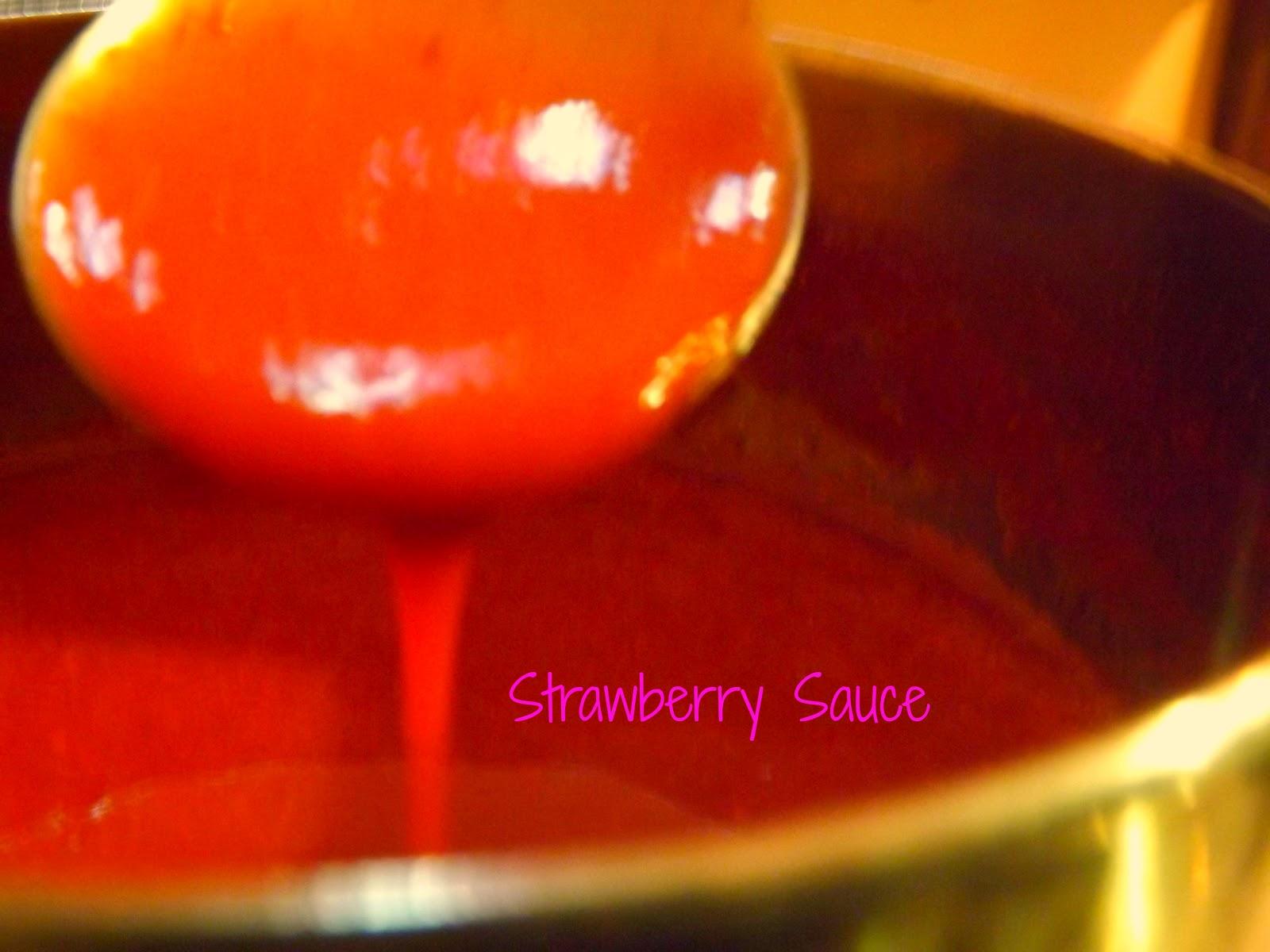 Strawberry Cream Puffs With Milk Chocolate Sauce Recipe ...