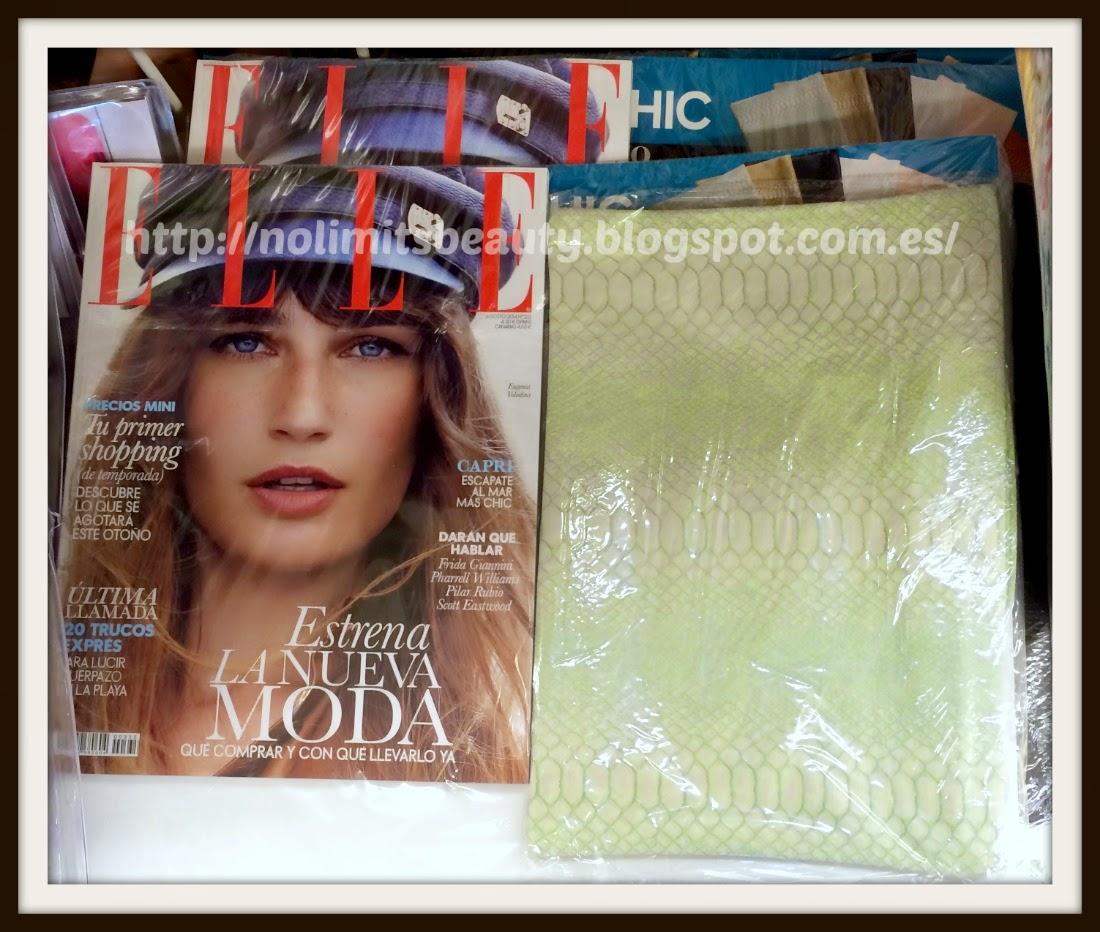 Regalos revistas agosto 2014: Elle