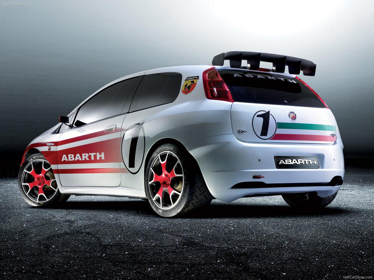 Fiat Grande Punto Abarth S X Wallpaper
