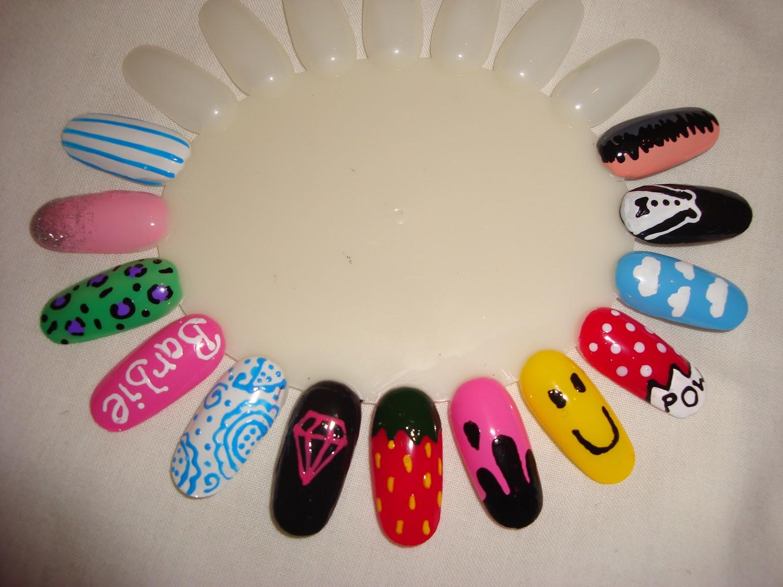Nail art wheel image collections nail art and nail design ideas artzeenailz nail wheel inspired by wah nails this nail wheel displays nail art designs inspired by prinsesfo Image collections