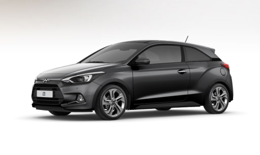 hyundai i20 coupe star dust grey gris Ferrari Coffee Kona