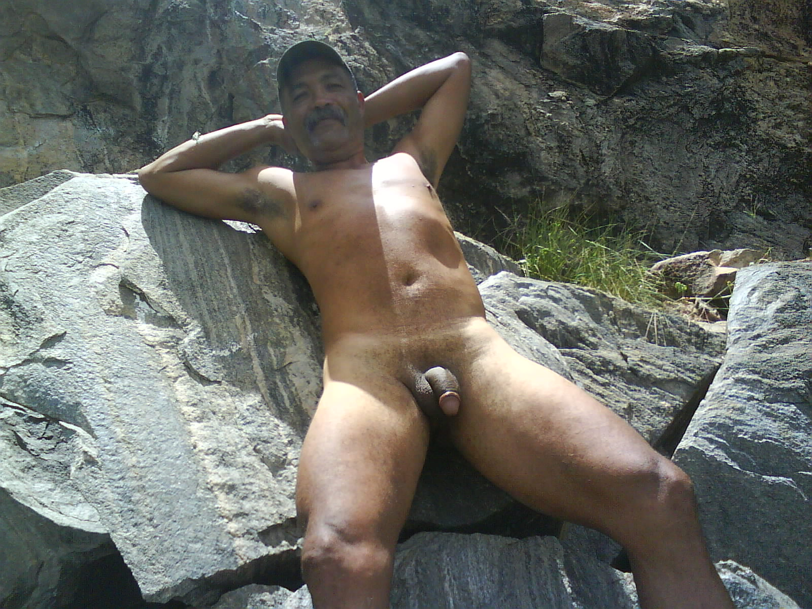 Indian daddy naked think