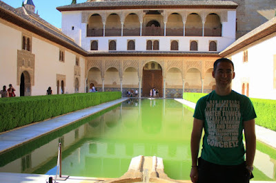 Nasrid Palaces in La Alhambra of Granada