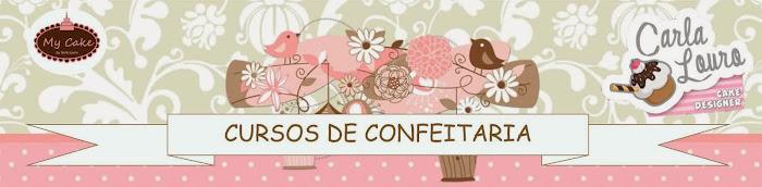 Curso de bolos Profa. Chef Carla Louro