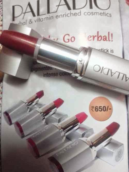 Palladio Herbal Lipstick Shades
