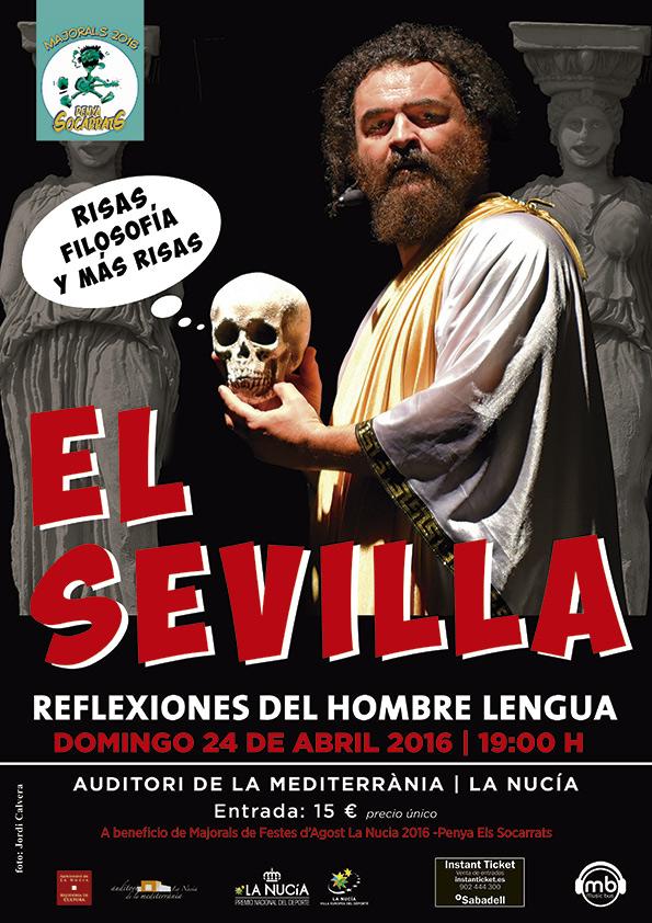 El Sevilla. Risas aplaudidas