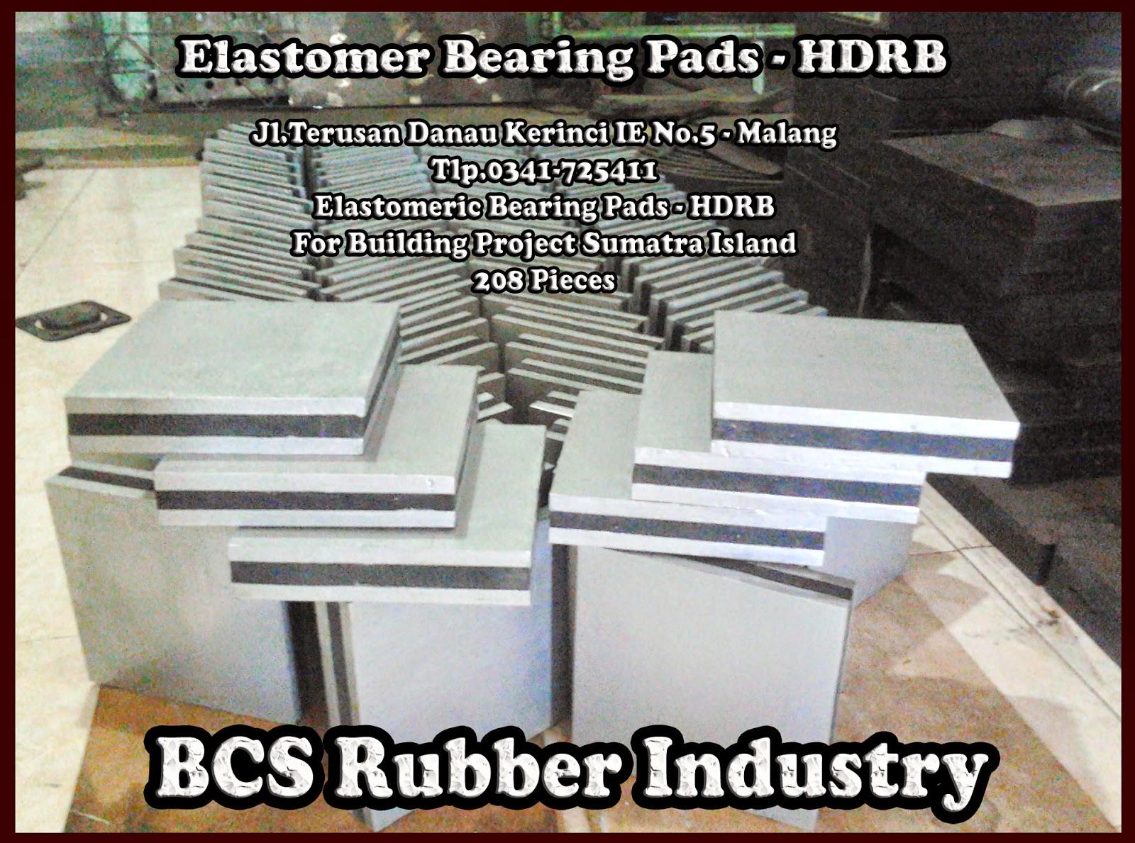 Elastomeric Bearing Pads + Abutment,Bantalan jembatan,karet bantalan jembatan