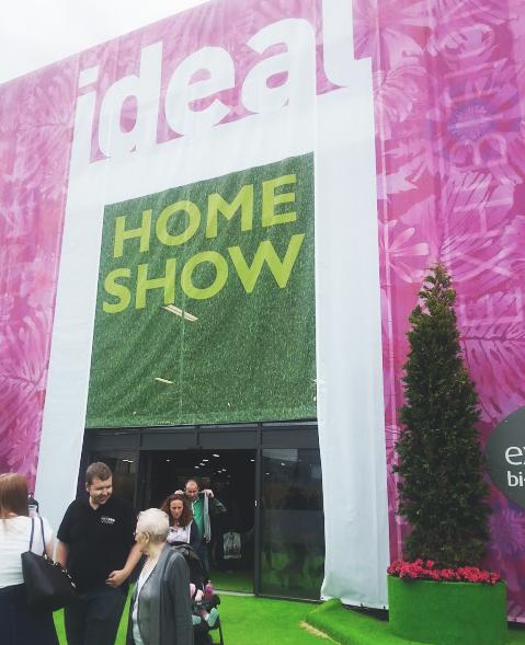 ideal home show manchester 2015 class glitter