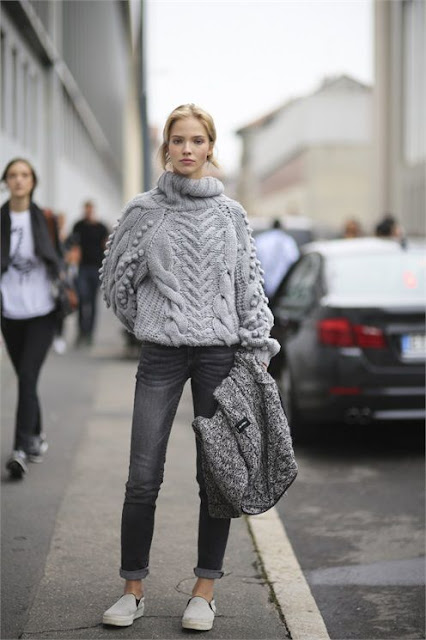 street style knit