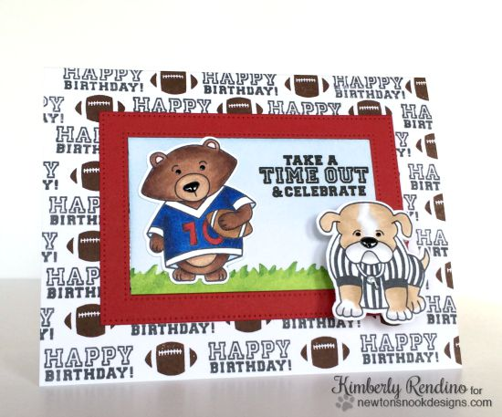 Newtons nook designs september release reveal day 2 touchdown football birthday card by kimberly rendino touchdown tails stamp set by newtons nook designs bookmarktalkfo Gallery