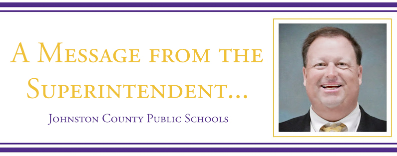 A Message from the Superintendent...