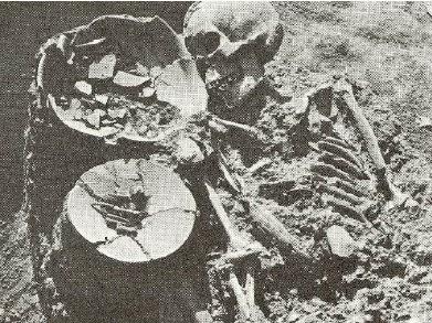 โครงกระดูกมนุษย์ชาวอุษาคเนย์ อายุราว 3,000 ปี