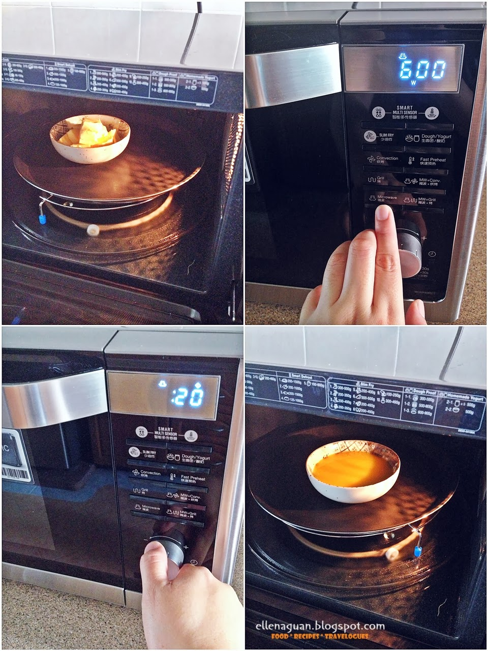 How To Bake A Cake In Samsung Microwave Convection Oven