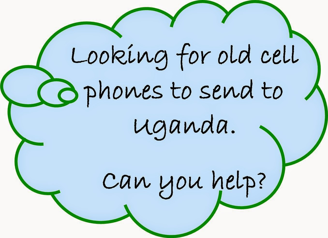Old cell phones, Uganda, phones