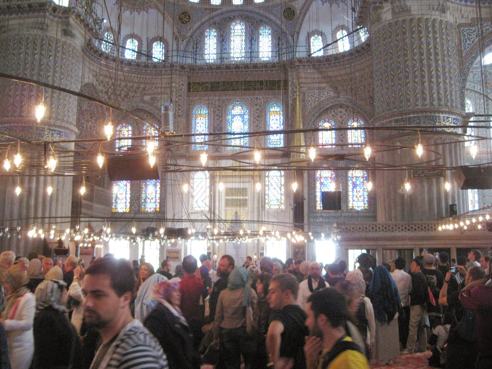 Istanbul - There's certainly a crowd of visitors