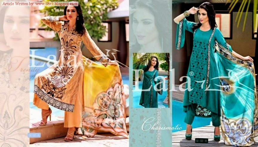 Lala - Sensuous Embroidered Collection 2014