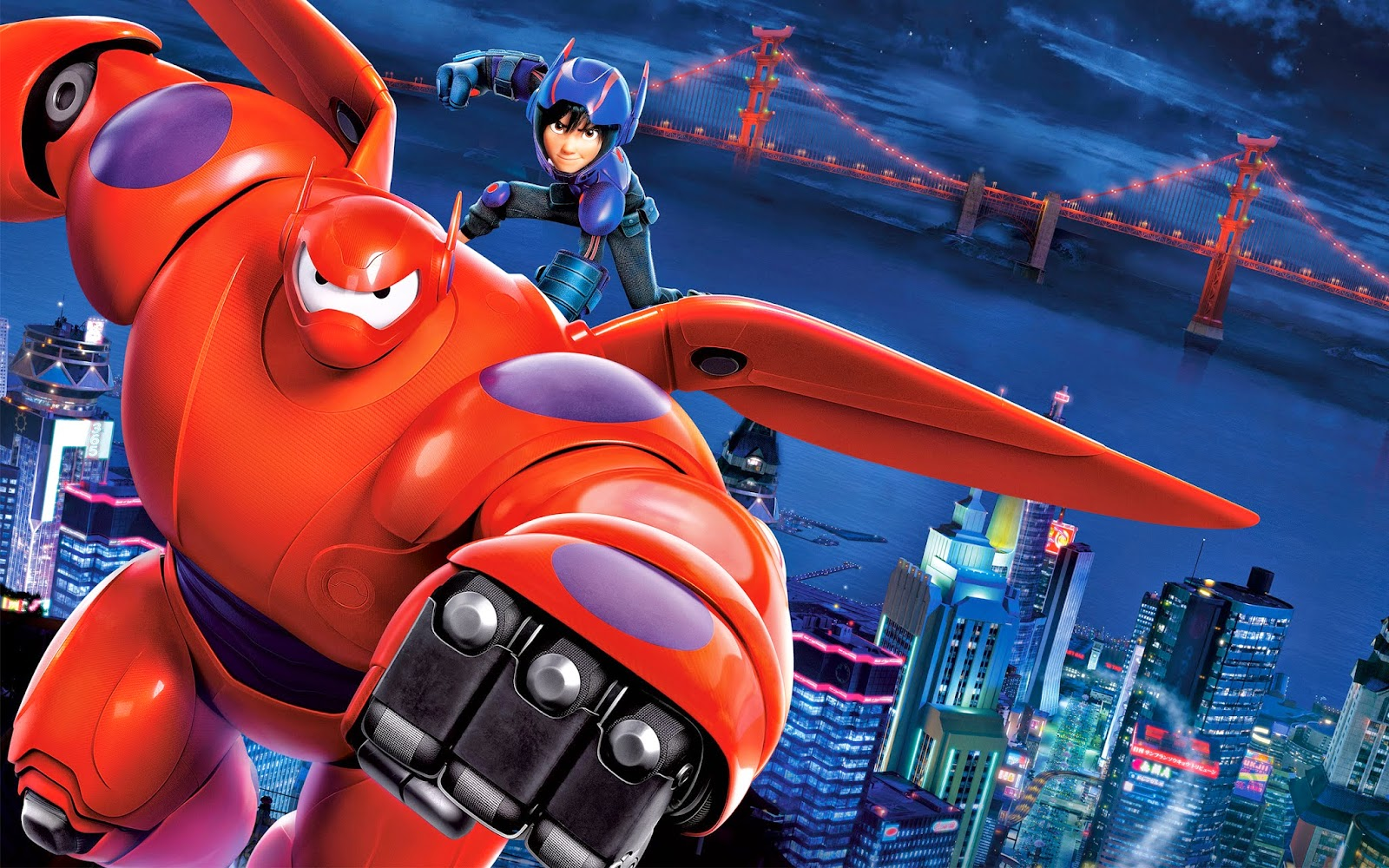 WALLPAPER BAYMAX BIG HERO 6 FULL