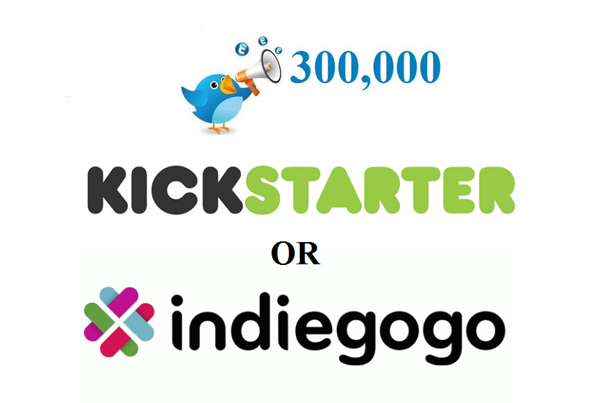 Promote your Crowdfunding campaign to 300,000 Twitter FoIlowers