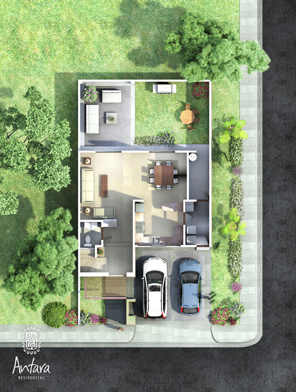 Muebles De Baño En Planta Arquitectonica:Planos de Casas y Plantas Arquitectónicas de Casas y Departamentos